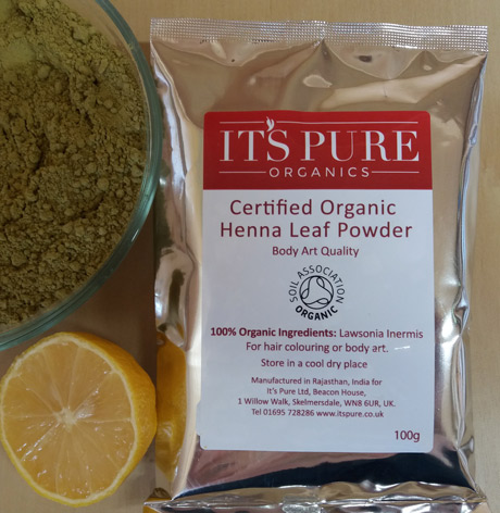 Certified Organic Henna Powder Body Art Quality Itspure Co Uk