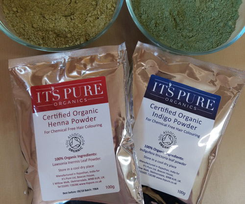 Henna For Hair Powder Indigo Powder Certified Organic Itspure Co Uk