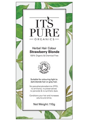It's Pure Organics Herbal Hair Strawberry Blonde