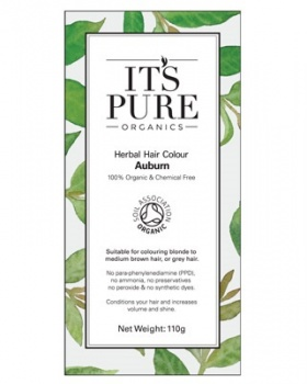 It's Pure Herbal Hair Colour Auburn