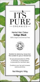 It's Pure Organics Herbal Hair Colour Indigo Black